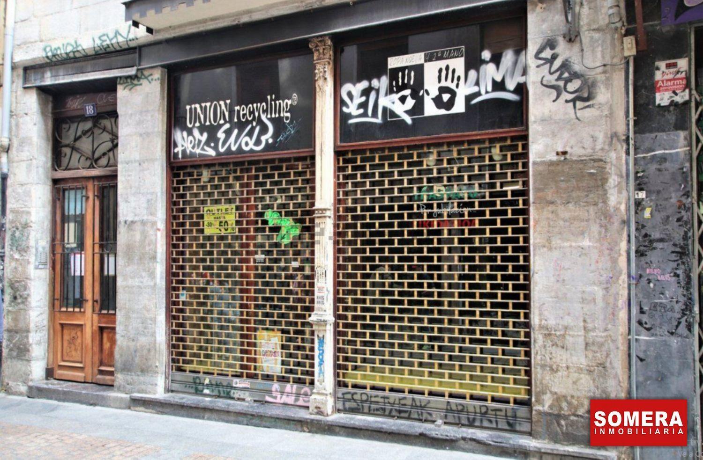 Local en alquiler en Calle Somera, Casco Viejo, Bilbao